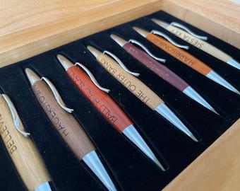 Custom Engraved Executive Pen Set