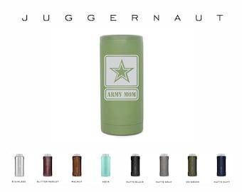 Brumate 24oz  Hopsulator Juggernaut, Double Wall Insulated, Engraved Bomber Holder, Personalized Tall Boy Holder, Customized Beverage Holder