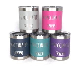 10oz Custom Engraved YETI Lowball Rambler, Vacuum Sealed Tumblers, Personalized Travel Mug, Engraved YETI Cups, Customized Yeti