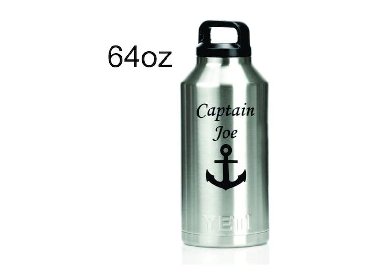 89f922b3f6 64oz Custom Engraved YETI Tumbler Half Gallon Jug Growler | Etsy
