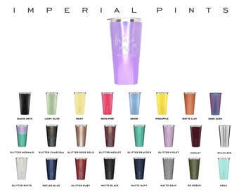 Brumate 20oz Imperial Pint Tumbler, Double Wall Insulated Tumbler, Engraved Travel Cup, Personalized Insulated Tumbler, Custom Tumblers