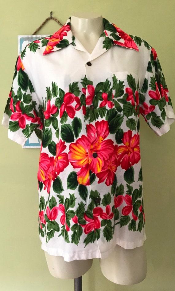 Vintage Aloha Shirt, Size XS