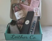 September Funfetti Deluxe Box, Leither Collection Subscription Box