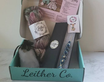 October Funfetti Deluxe Box, Leither Collection Subscription Box