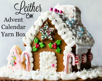 Christmas Advent Calendar Yarn Box