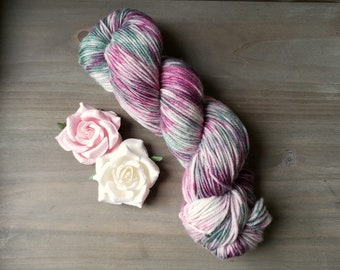 Blushing Sage Hand Dyed Yarn