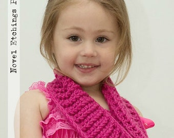 Crochet Pattern Sophia Cowl - PDF - Instant Digital Download (Child and Adult)
