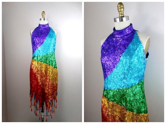 Beaded Sequin Dress