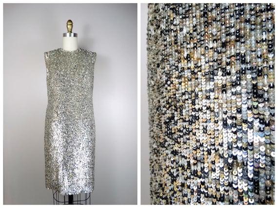 60s Peggy Jennings Sequin Dress // 60s Vintage Cou