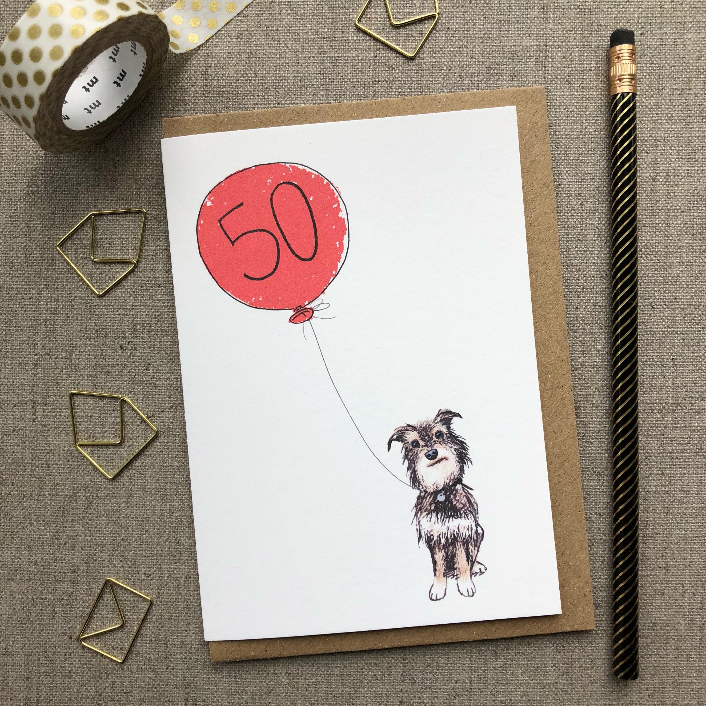 50th Birthday Card Birthday Card Birthday Card For Him