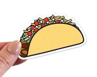 Taco Stickers, Taco Sticker, Taco Vinyl Sticker, Taco Vinyl Stickers, Taco Die Cut Sticker, Taco Laptop Sticker, Taco Laptop Stickers