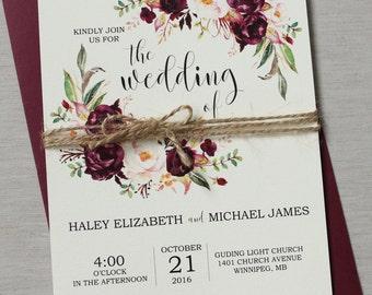 Wedding invitations etsy ca stopboris Images