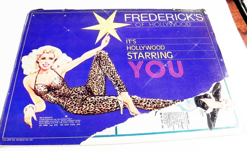 69ed417e6a 1970s Fredericks of Hollywood catalog vintage fashion lingerie