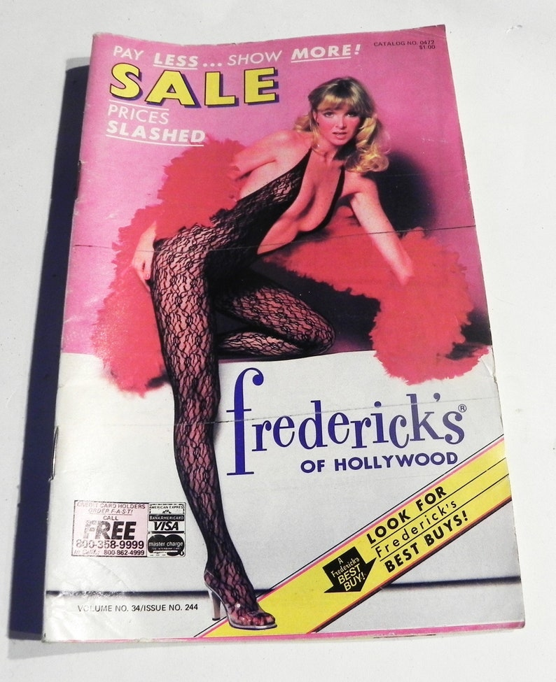 0f87153379 1980s Fredericks of Hollywood fashion catalog lingerie