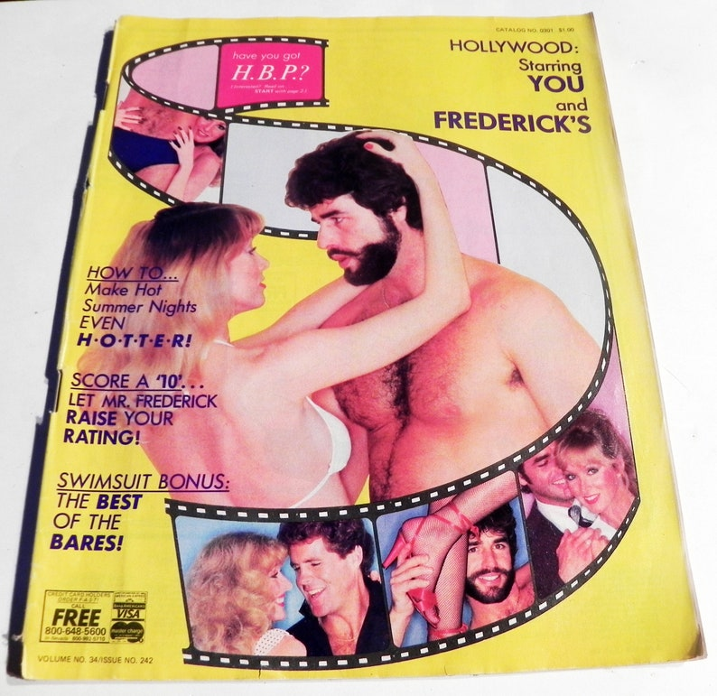 4cd88158c0 1980s Fredericks of Hollywood lingerie clothing fashion