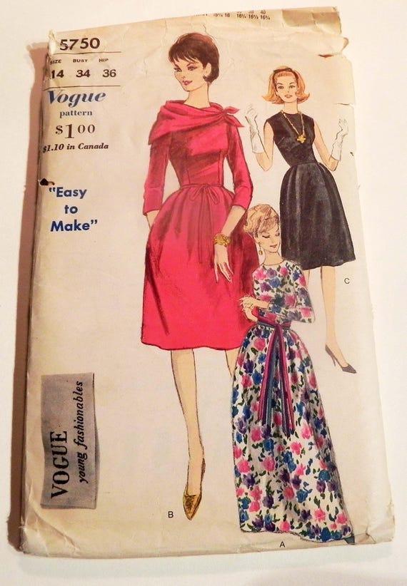dc398dbc8a2461 1960er Jahre Abendkleid Cocktailkleid Fit und Streulicht junge | Etsy