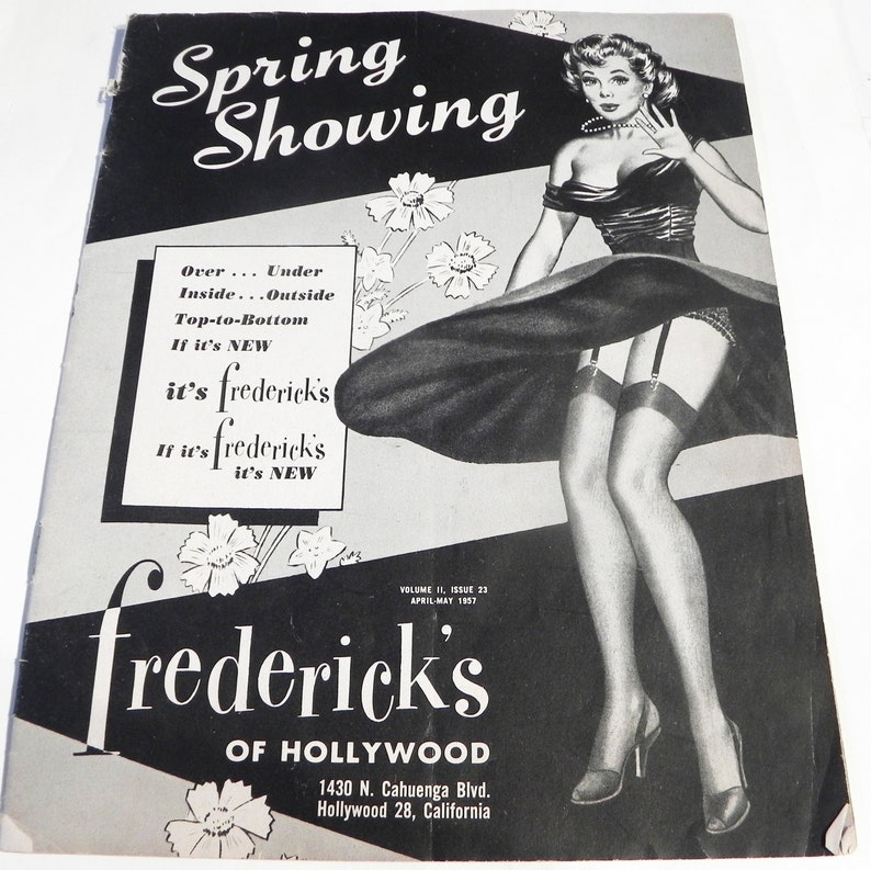 0d5c324ee2 1950s Fredericks of Hollywood Sexy Lingerie Fashion Catalog