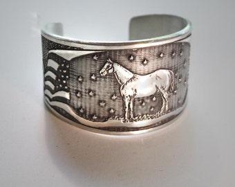 American Quarter Horse Cuff bracelet