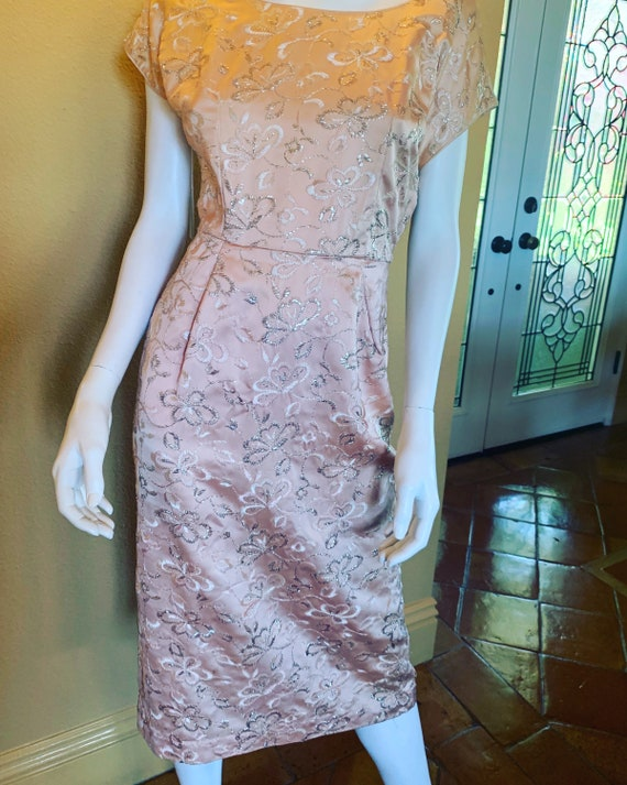 Champagne Lady Wiggle Dress