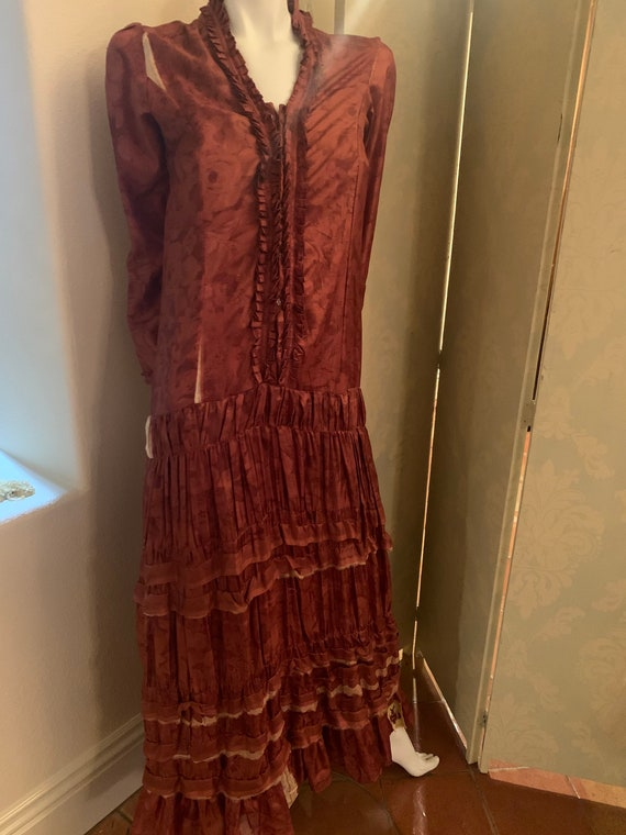 Pure Silk Gypsy Dress