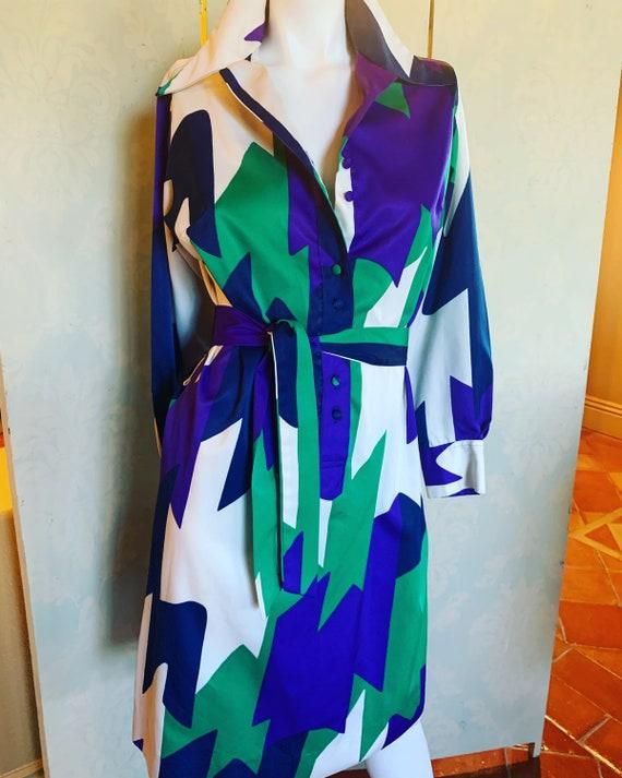 Lanvin Shirtwaist Dress