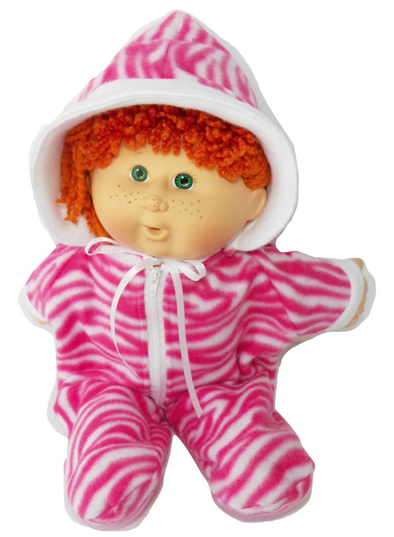 Cabbage Patch Doll Clothes 14 Inch or Preemie Size Pink Elephant Pants Clothes Only