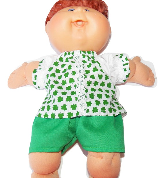 My life dolls Baby doll clothes Clothes for 14 inch Cabbage Patch and kids Handmade Lovely outfit for 14 inch dolls