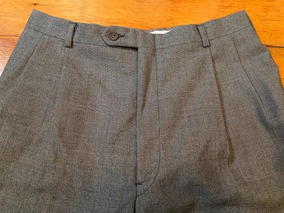 Vintage Dior men's pants, wool tweed