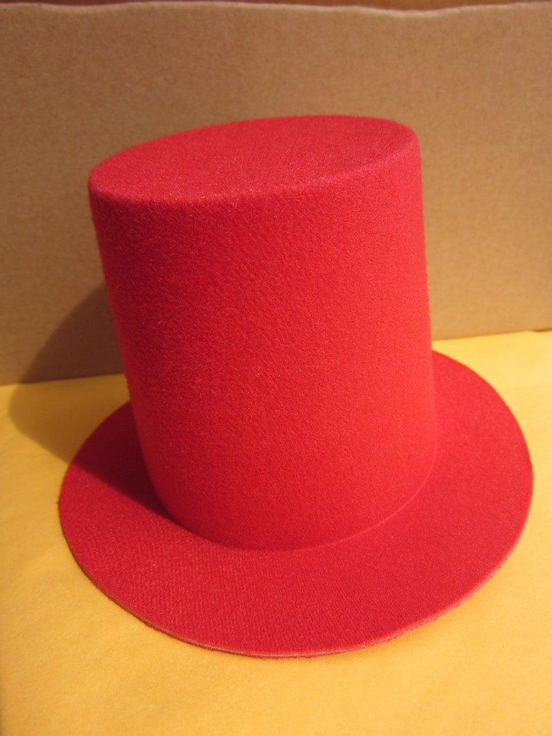 ec235373a4a3b 1pcs Mini Top Tall Hat Millinery Fascinator Base DIY Craft