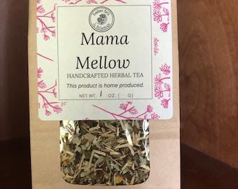 Mama's Mellow Blend Herbal Tea ~ Organic Herbal Tea Blend - Homemade - For Ohio Customers Only