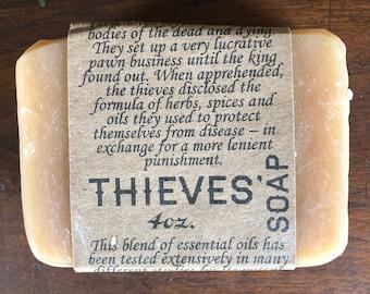 Thieves Soap : Palm oil free - Artisan - Handmade, Gentle