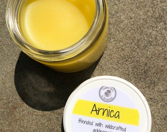 Arnica Salve with Wildcrafted Goldenrod - Organic, Herbal, Natural