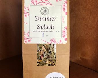 Summer Splash Herbal Tea ~ Organic Herbal Tea Blend - Homemade - For Ohio Customers Only