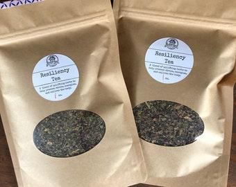 Resiliency Herbal Tea ~ Organic Herbal Tea Blend - Homemade - For Ohio Customers Only
