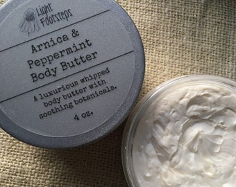 Arnica and Peppermint Body Butter