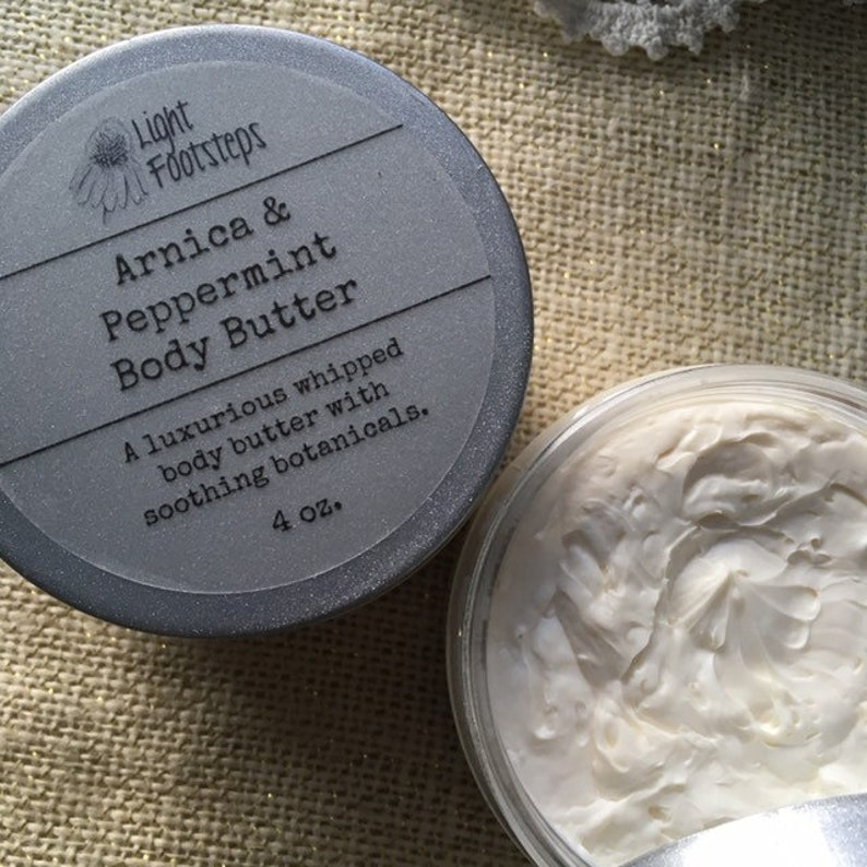 Arnica and Peppermint Body Butter image 0