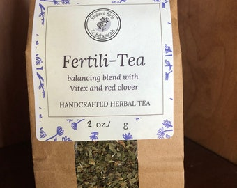 Fertili-Tea Herbal Tea (Formerly Conscious Conception) ~ Organic Herbal Tea Blend - Homemade - For Ohio Customers Only