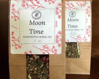 Moon Time ~ Organic Herbal Tea Blend - Homemade - For Ohio Customers Only
