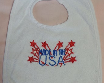 Made in US bib