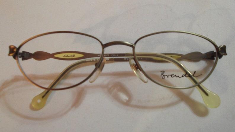 Women's Vintage old fashion metal frame eyeglasses