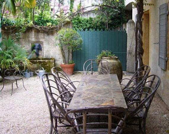 Antique Garden Gate Courtyard Privacy Porte Door Reclaimed   Etsy