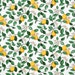Michelle Rios reviewed Tablecloth white yellow lemons green leaves Botanical Scandinavian Design , runner , napkins , curtains , pillows , great GIFT