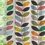Linen or cotton canvas curtain brighter or lighter multicolor Cafe curtains Kitchen valances Curtain drapes Scandinavian design Home decor