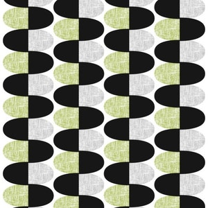 runner great GIFT curtains available napkins Tablecloth white black grey blue abstract ovals Modern Scandinavian Design pillow