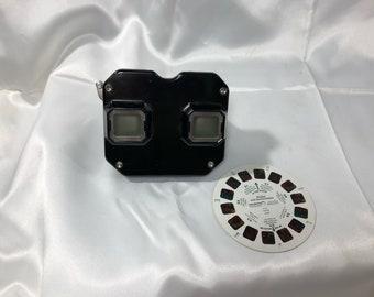 Sawyer's View-Master Viewer Stereoscope Vintage Portland Oregon Bakelite Black