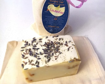 "Lavender ""Everyday Soap"" Handmade Cold Process Homemade"