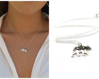The Great Bear Necklace - Sterling Silver Jewelry - California Jewelry