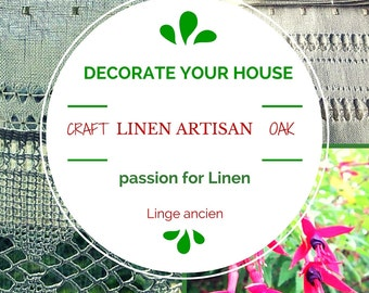 Soft-furnishing tailor made for you / To dress a window is to dress a room... with Linenartisan