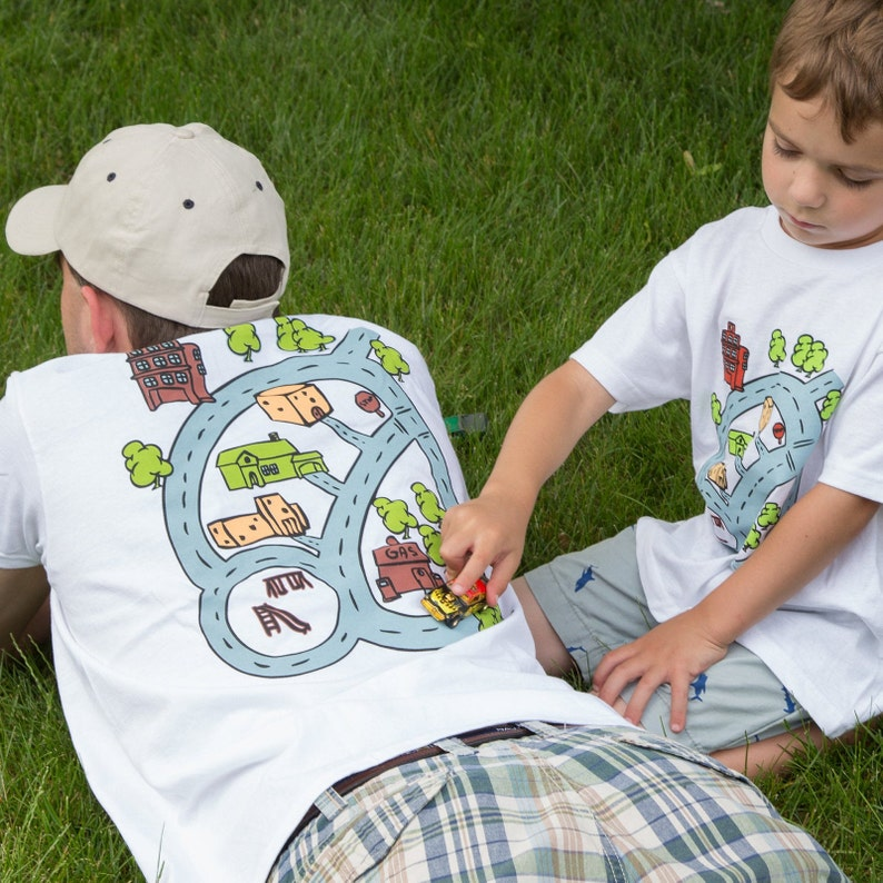 Matchbox Car Play shirt  Father Son or Big Little Brother image 0