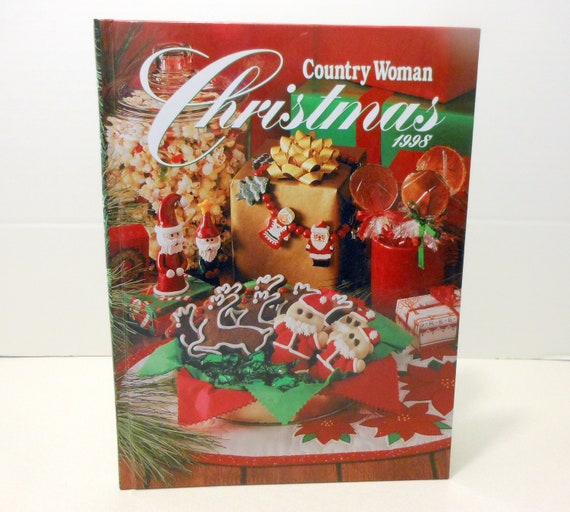 Country Woman Christmas Holiday Magazine Baking Recipes Crafts Etsy